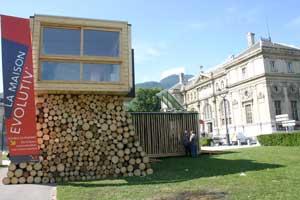 Pavillon sur la Place de Verdun