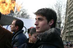 Brian Joubert à Grenoble le 6 février 2006
