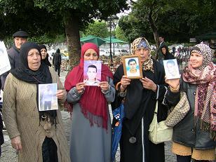 Mères de disparus à Tunis