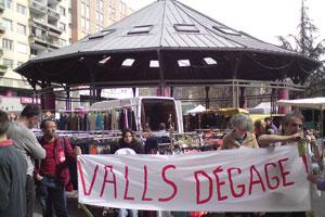 """""""Valls dégage"""" : Villeneuve mobilisée"""