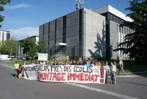 Rassemblement le 12 juin devant des antennes relais dans le quartier Beauvert