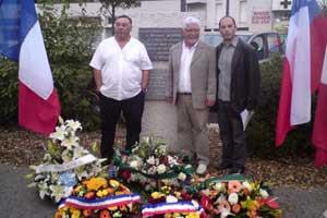 Hommage à Allende 11 septembre 2012