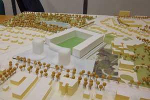 Projet de transformation du stade Lesdiguières