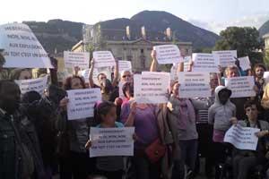 Pique-nique solidaire 2013 à Grenoble