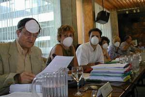 intervention au sujet de la pollution au Conseil Municipal de Grenoble le 10 juillet 2003