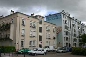 Musée Tony Garnier dans le quartier des Etats-Unis à Lyon